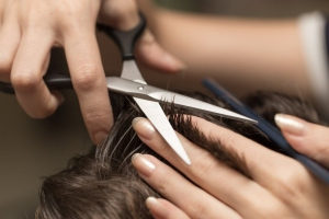Haare-schneiden