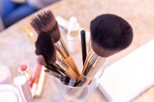 Kosmetik-Schminkpinsel